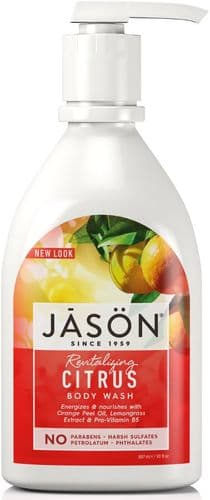 Jasons Natural Organic Citrus Body Wash With Pump